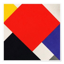Poster  Counter Composition V - Theo van Doesburg