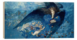 Bois  Night with her Train of Stars - Edward Robert Hughes