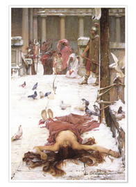 Poster  Saint Eulalie - John William Waterhouse