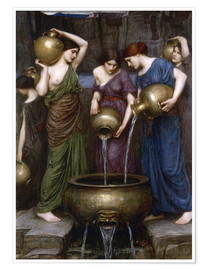 Poster  Danaïdes - John William Waterhouse