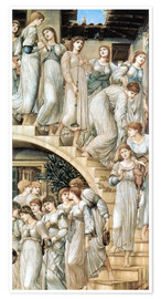 Poster  The Golden Stairs - Edward Burne-Jones