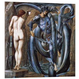 Tableau en PVC  Perseus met the fate - Edward Burne-Jones