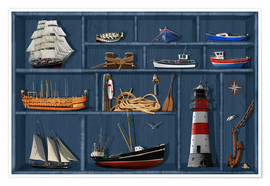 Poster The maritime case cabinet