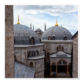Poster Mosquées d'Istanbul