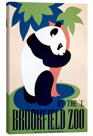 Tableau sur toile  Brookfield Zoo - Advertising Collection