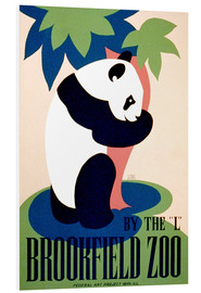 Tableau en PVC  Brookfield Zoo - Advertising Collection