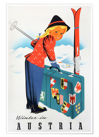 Poster  Winter in Austria - Travel Collection
