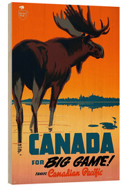 Canada travel for big game