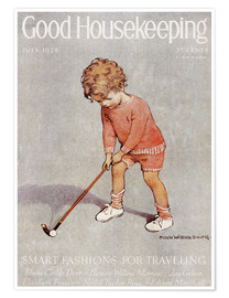 Poster  Golf - Jessie Willcox Smith