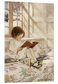 Verre acrylique  Picture Books in Winter - Jessie Willcox Smith