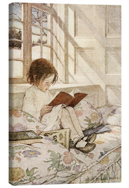 Toile  Picture Books in Winter - Jessie Willcox Smith