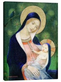 Toile  Madonna and Child - Marianne Stokes
