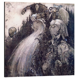 Alu-Dibond  Troll of the forest - John Bauer