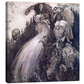 Toile  Troll of the forest - John Bauer
