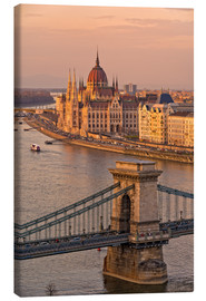 Toile  Budapest late afternoon - Fine Art Images