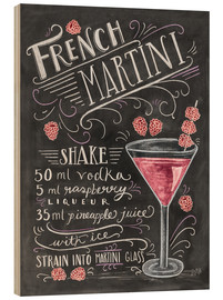 Bois  Recette du French Martini Raspberry (anglais) - Lily & Val