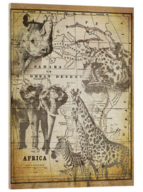Verre acrylique  The Spirit of Africa - Andrea Haase
