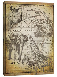 Tableau sur toile  The Spirit of Africa - Andrea Haase