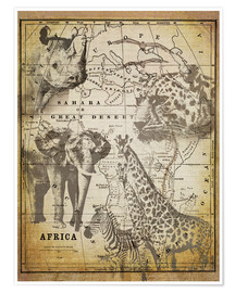 Poster  The Spirit of Africa - Andrea Haase
