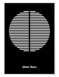 Poster  DIETER RAMS - THE USUAL DESIGNERS