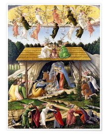 Poster  Mystical Birth - Sandro Botticelli