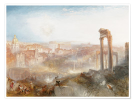 Poster  Rome Moderne - Joseph Mallord William Turner