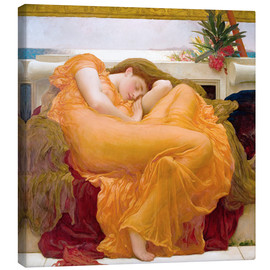 Toile  Flaming June - Frederic Leighton