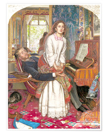 Poster  The Awakening Conscience - William Holman Hunt