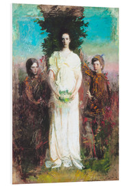 Tableau en PVC  My Children (Mary, Gerald, and Gladys Thayer) - Abbott Thayer