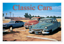 Poster  Classic Cars - Georg Huber