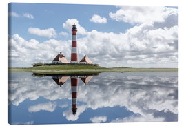 Tableau sur toile  Lighthouse at the Northsea - Filtergrafia