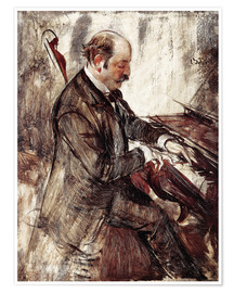 Poster  The Pianist - Giovanni Boldini
