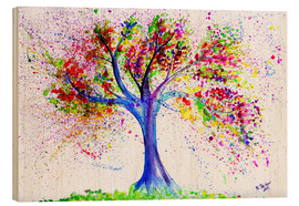Bois  Tree of Life Aquarell - M. Bleichner