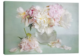 Tableau sur toile  still life with peonies - Lizzy Pe