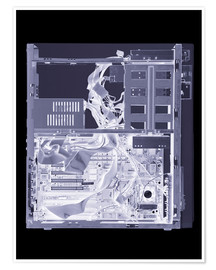 Poster  Computer, simulated X-ray - Mark Sykes