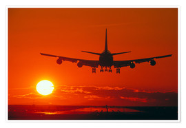 Poster Boeing 747