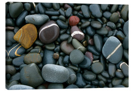 Tableau sur toile  Pebbles on a beach - Keith Wheeler