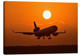 Toile  Débarquer un Boeing MD11 - HADYPHOTO by Hady Khandani