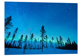 Tableau en PVC  Northern lights - Jeremy Walker