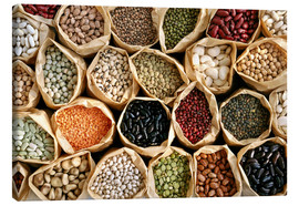 Tableau sur toile  Assorted pulses