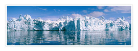 Poster  Ilulissat icefjord - Jeremy Walker
