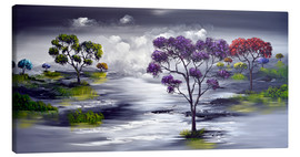Tableau sur toile  The world before - Theheartofart Gena