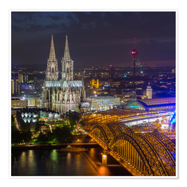 Poster  Cologne Cathedral - rclassen