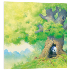 Tableau en PVC  Panda In tree - John Butler