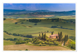 Poster  Tuscany Italy - Fine Art Images