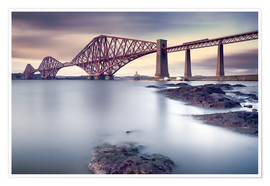 Poster  Forth Rail Bridge - Martin Vlasko