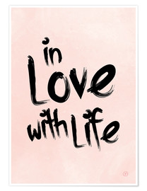 Poster In love with life