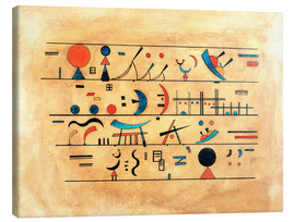 Tableau sur toile  character strings - Wassily Kandinsky