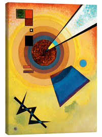 Tableau sur toile  Green and red - Wassily Kandinsky