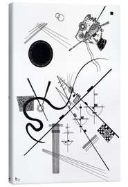 Toile  Untitled (dessin 4) - Wassily Kandinsky